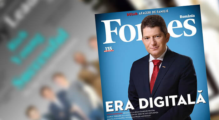 OUR CEO IN FORBES