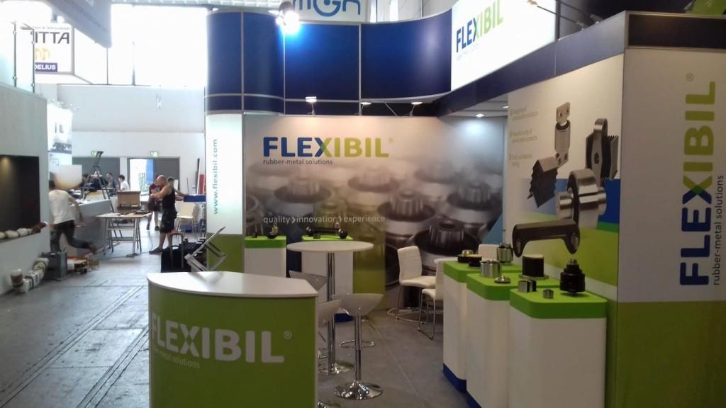 Flexibil Rubber Solutions InnoTrans Berlin stand