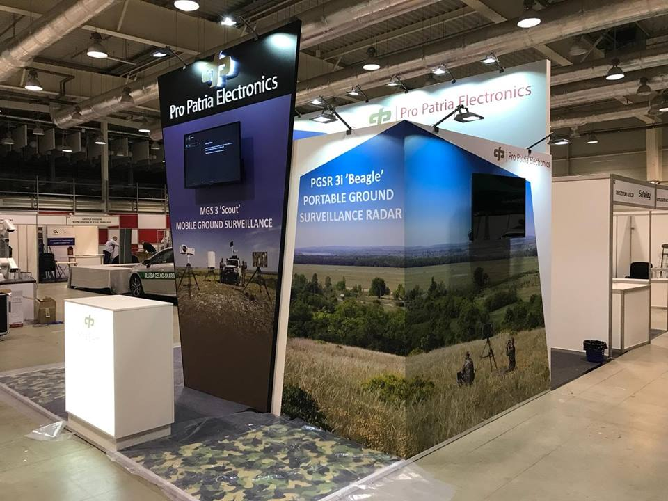PRO PATRIA ELECTRONICS stand BORDERS 2018 Lublin