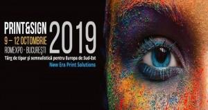 PRINT&SIGN 2019 Bucuresti standuri personalizate