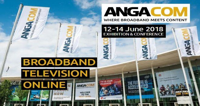 exhibition stand builder ANGA COM 2018